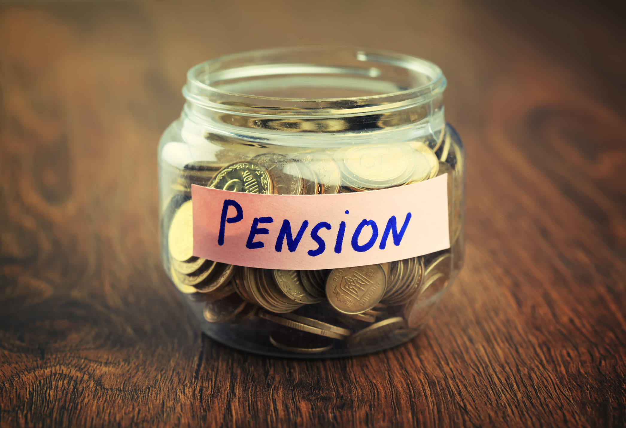 Pension Saving Jar
